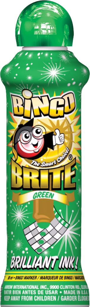 Green Bingo Brite Ink