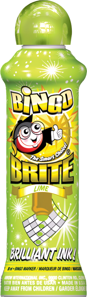 Lime Bingo Brite Ink