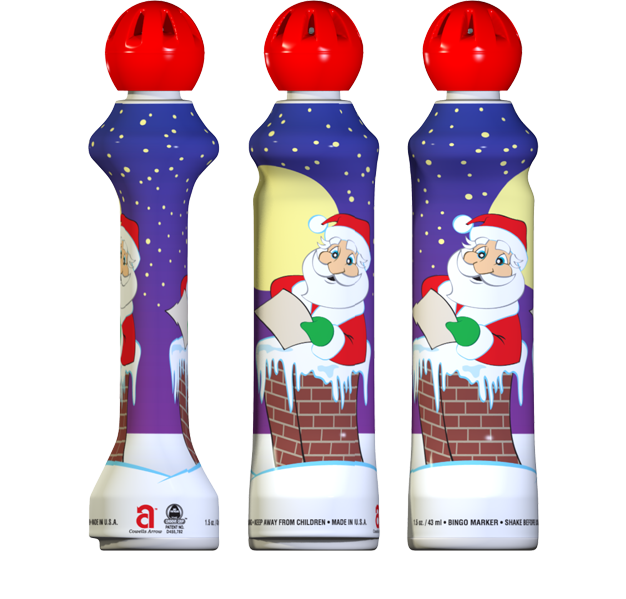 Christmas Mini-Tip Bingo Ink