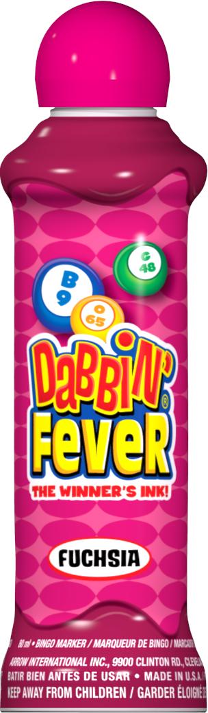 Fushia Dabbin' Fever Ink