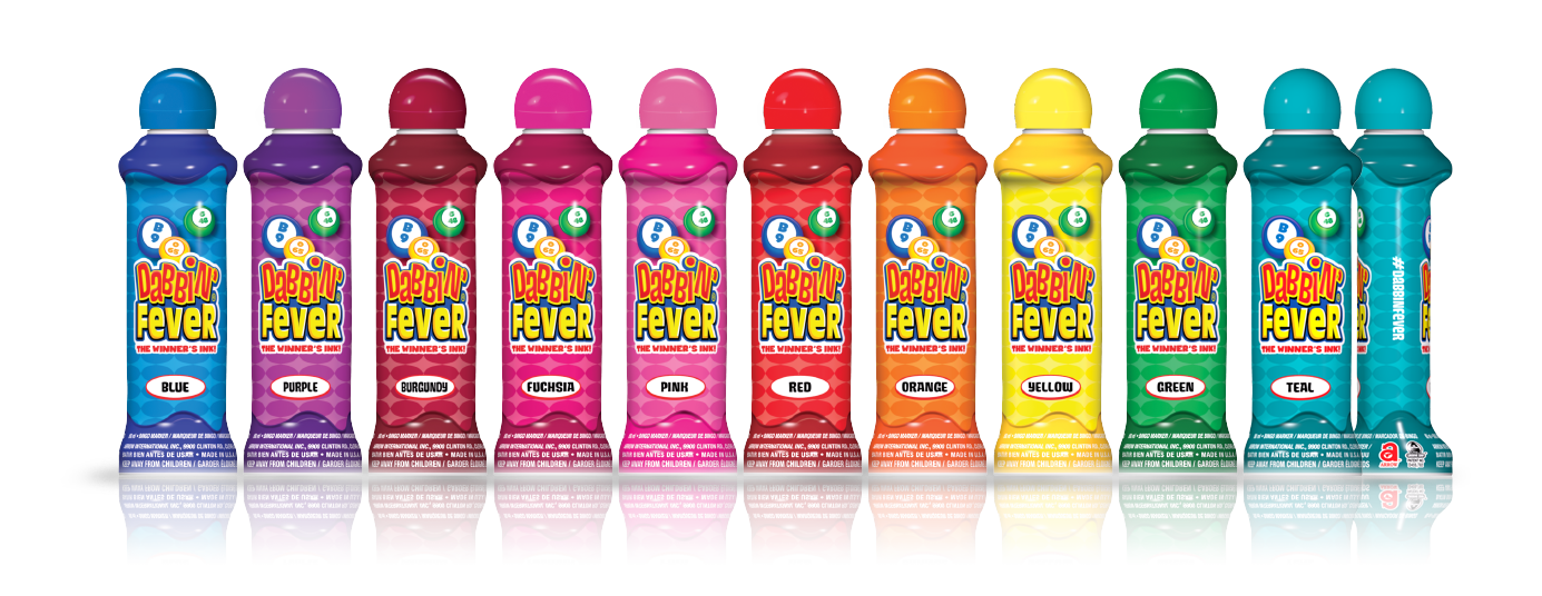 Dabbin Fever Bingo Ink Bottles