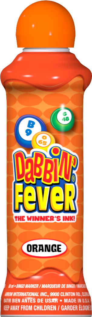 Orange Dabbin' Fever Ink