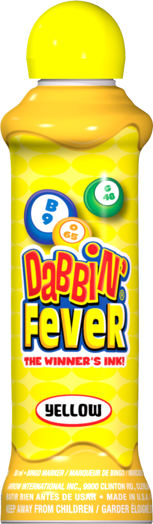 Yellow Dabbin' Fever Ink