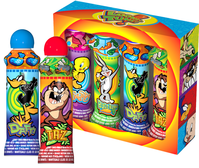 Looney Tunes Bingo Ink Gift Set