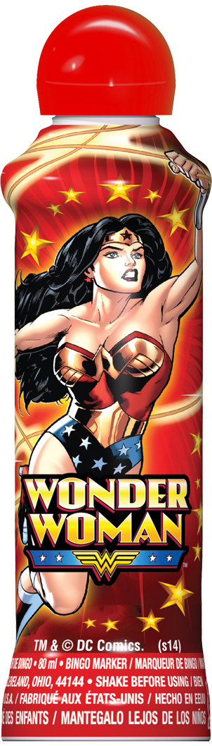 Red Wonder Woman Ink
