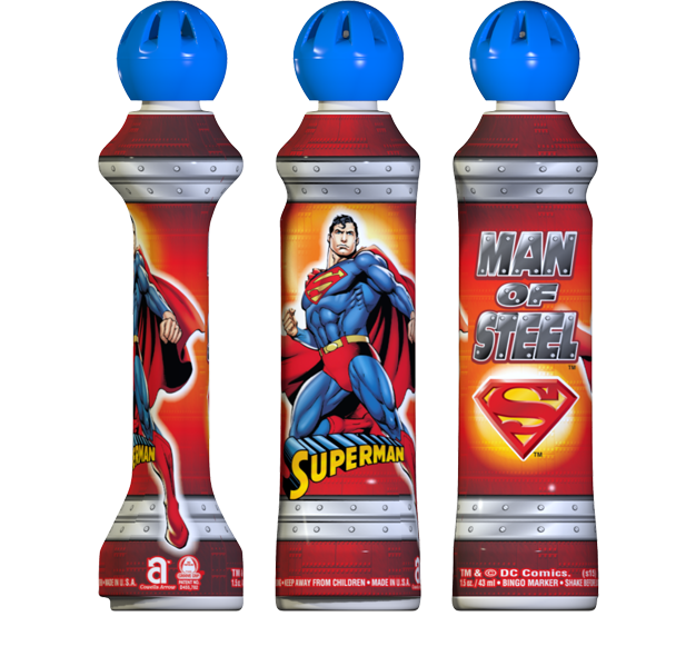 Superman Mini-Tip Bingo Ink
