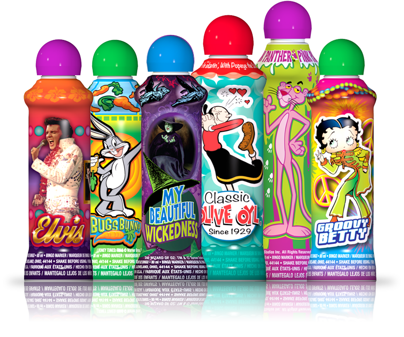 The Industries Most Diverse Lineup of Licensed Bingo Ink